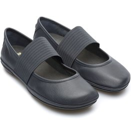 Camper Atlantic Camper Atlantic, Wide stretch strap leather flat Nina