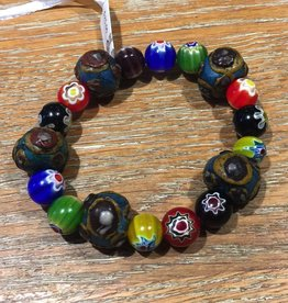 Nusantara Spirit bracelet ceramic/glass