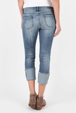 Kut from the Kloth Cameron Wide Cuff Straight Leg Jeans, 5 Pocket