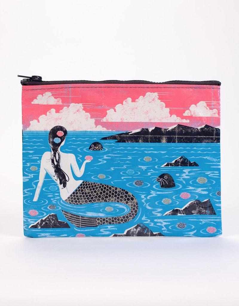 Blue Q Mermaid Zipper Pouch