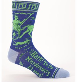 Blue Q Hark! Microbrewery Men's Socks