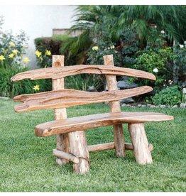 Garden Age Teak Ranch Bench 5'