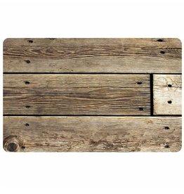 bungalow FoFlor 46 x 66 Accent Mat - Rustic Wood
