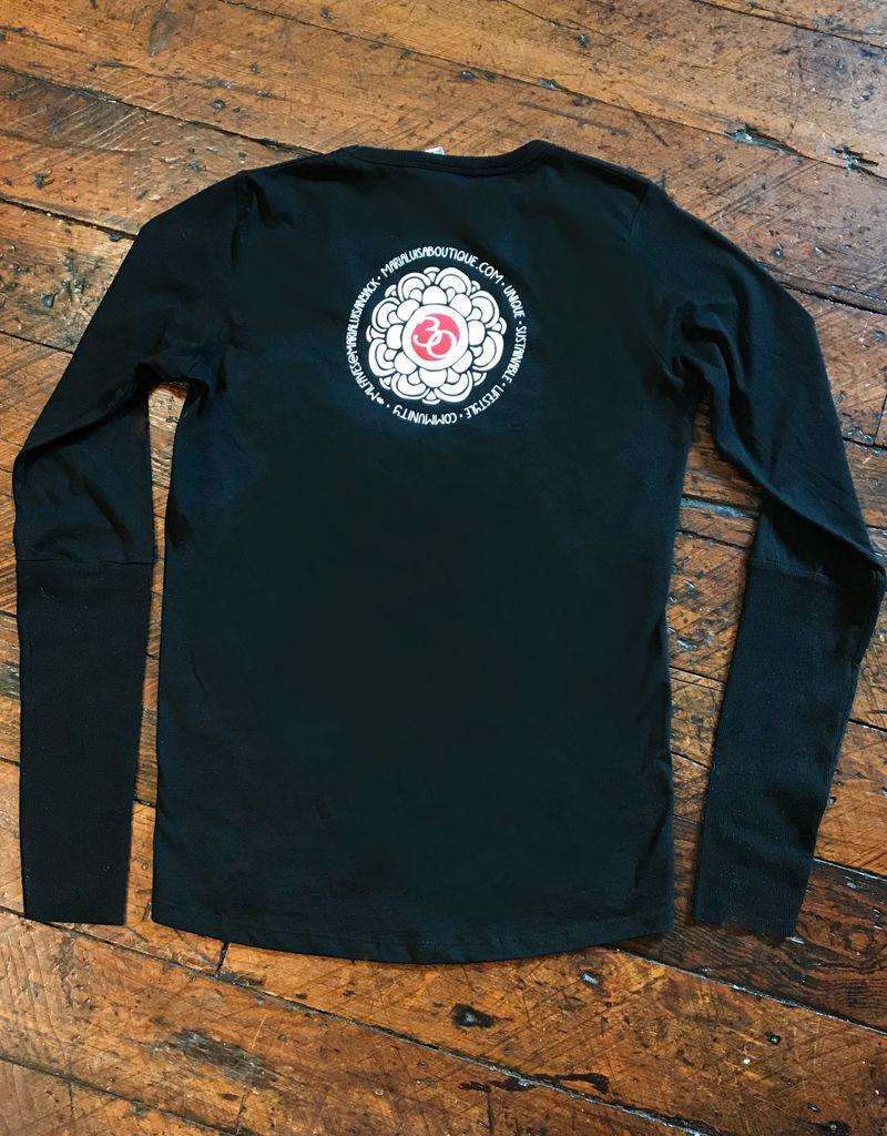 Alternative Apparel Cotton Long sleeve Logo tee