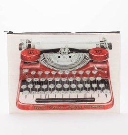 Blue Q Typewriter Jumbo Pouch