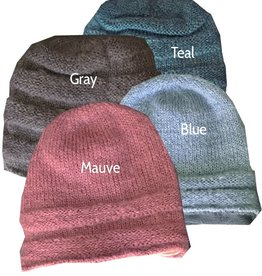 Nomvula's Knitters Fleece-Lined Mohair Hat