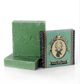 Soap & Paper Factory 6 oz Stag Soap Patch NYC
