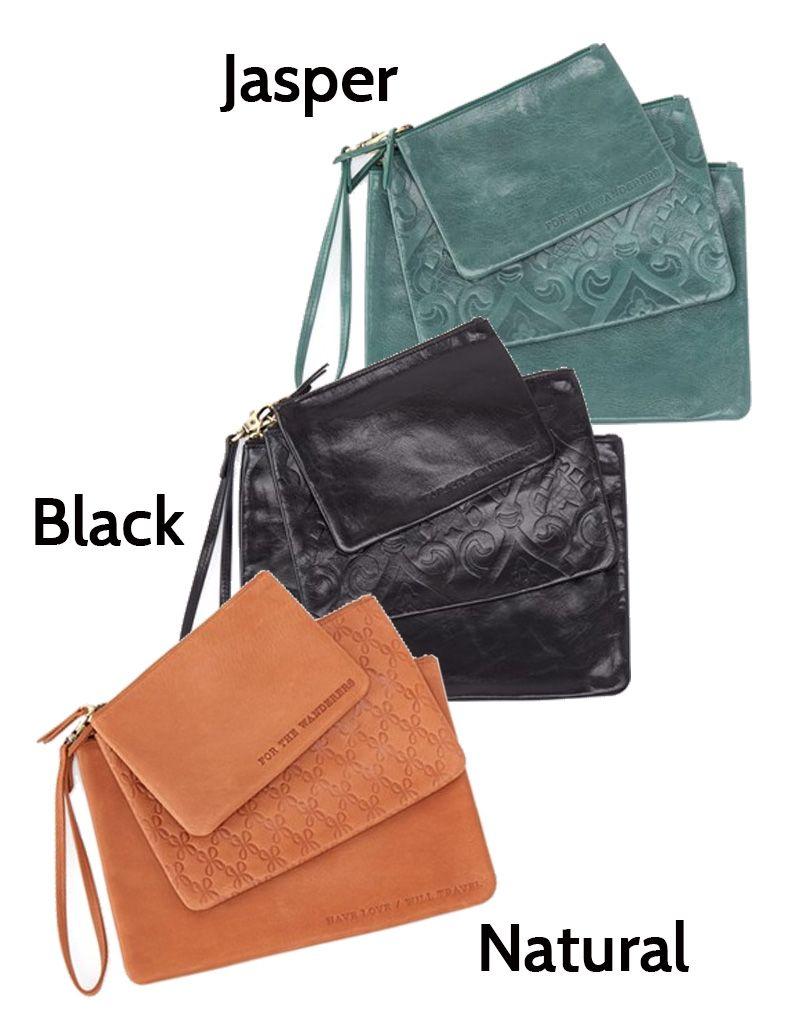 bfe3f625d777 Hobo Int l Urban Oxide Triad Pouch Bags Set ...