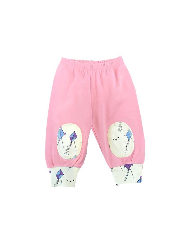 Lou & Dejlig Print Knee Patch Pant Organic Cotton