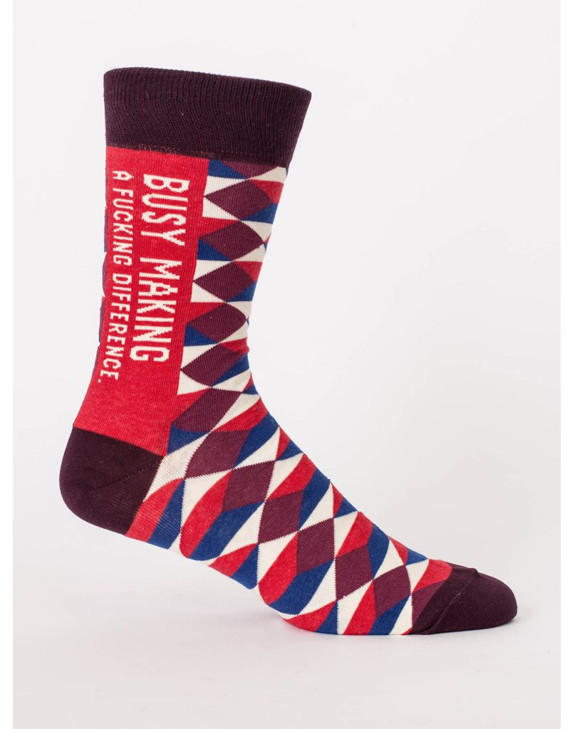 64515aec3 Blue Q Making a Difference Men s Socks - Maria Luisa Boutique