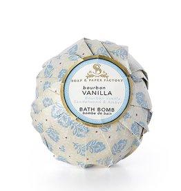 Soap & Paper Factory Bourbon Vanilla Deluxe Bath Bomb 5oz