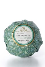 Soap & Paper Factory Muddled Peppermint Deluxe Bath Bomb 5oz