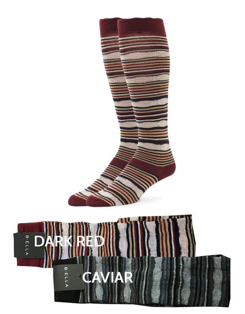 B.ella/Standard Merch Kaleena Stripe Knee Socks