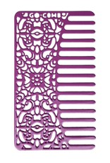 Go-Comb Stainless Steel Orchid Lace Comb