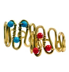 Matr Boomie Curve wire multicolor rings