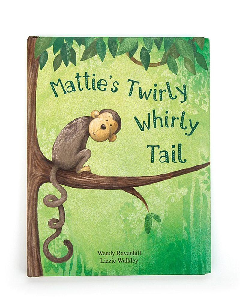 Jelly Cat Mattie's Twirlty Whirly Tail Book