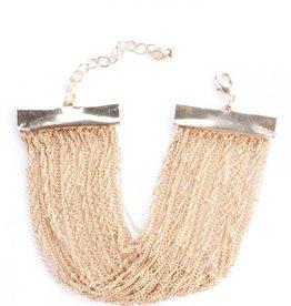 Mata Traders Valentina Gold Bracelet