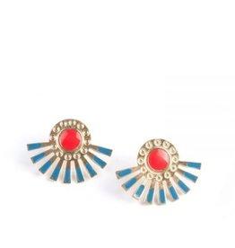 Mata Traders Helios Stud Earrings