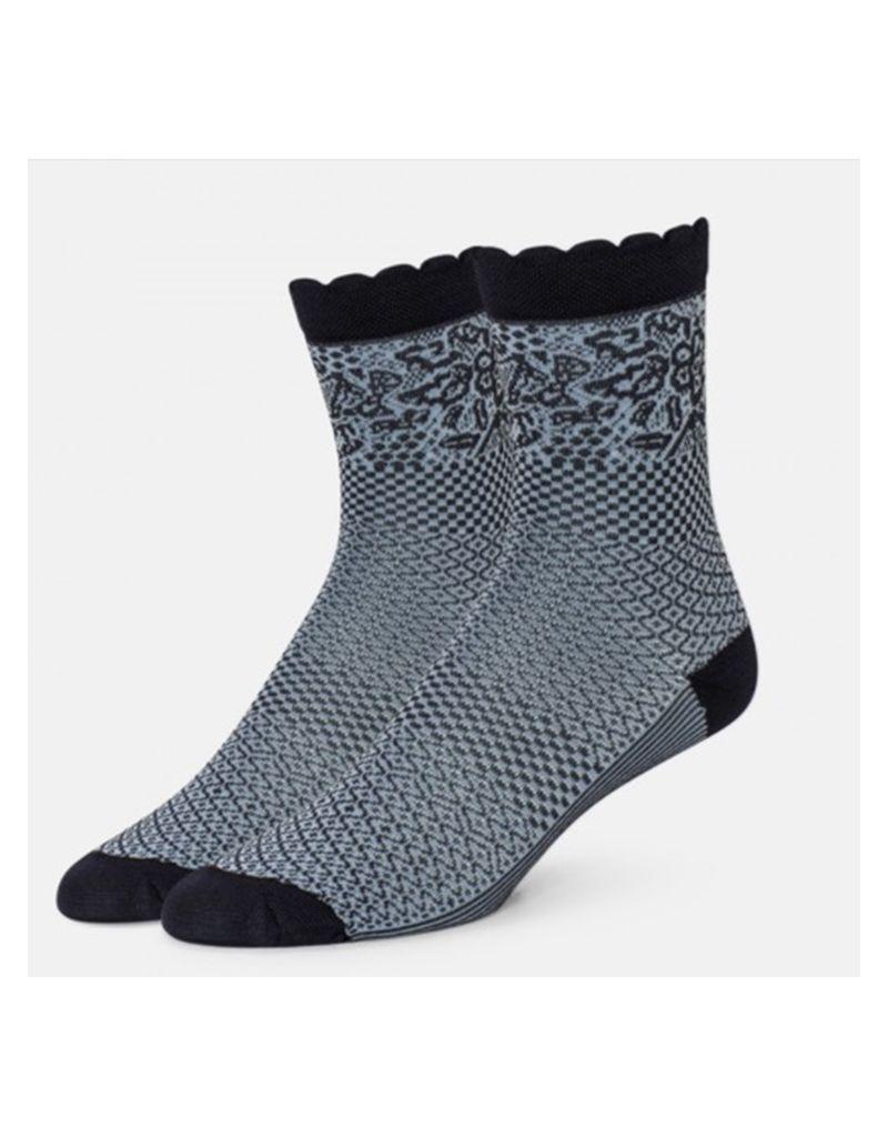 B.ella/Standard Merch Emmeline Patched 2 Tone Socks