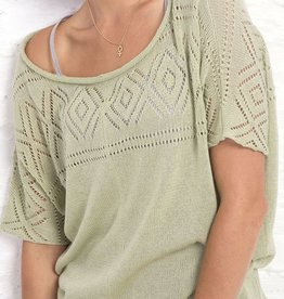 Wooden Ships Annabelle Cotton Knit Top