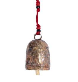 """Matr Boomie Copper Handmade Bell 5""""h"""