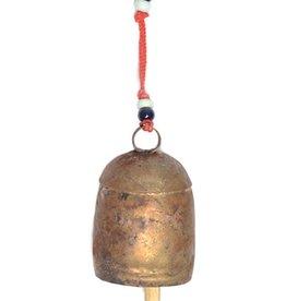 """Matr Boomie Copper Handmade Bell 6""""h"""