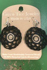 Green Tree Jewelry Signature Flower Earrings