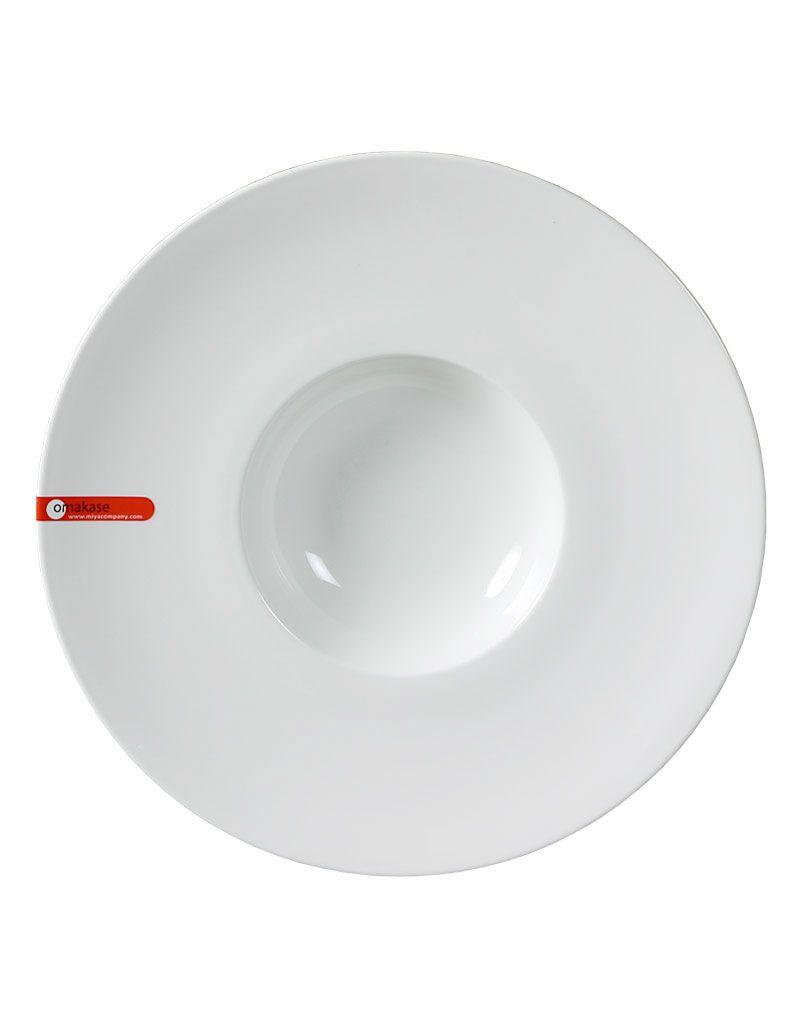 Miya Company White Soup Plate / Bowl 11.5