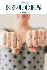 Tattly Knucks Small Tattoo Set