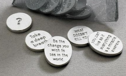 Vilmain Pewter Bag of Quotes