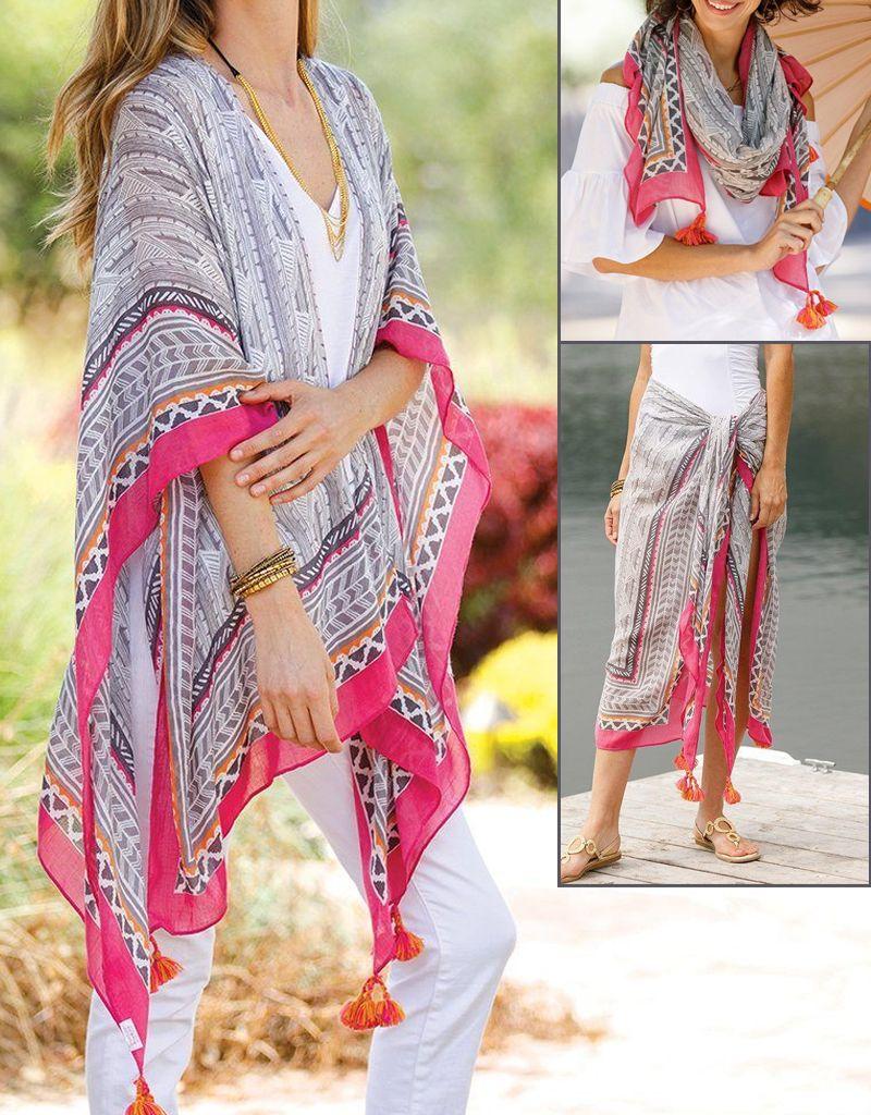 rockflowerpaper Ios Grey Kimono
