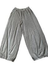 Cut Loose Cut Loose, Cropped Dart Cotton Linen Knit Pant