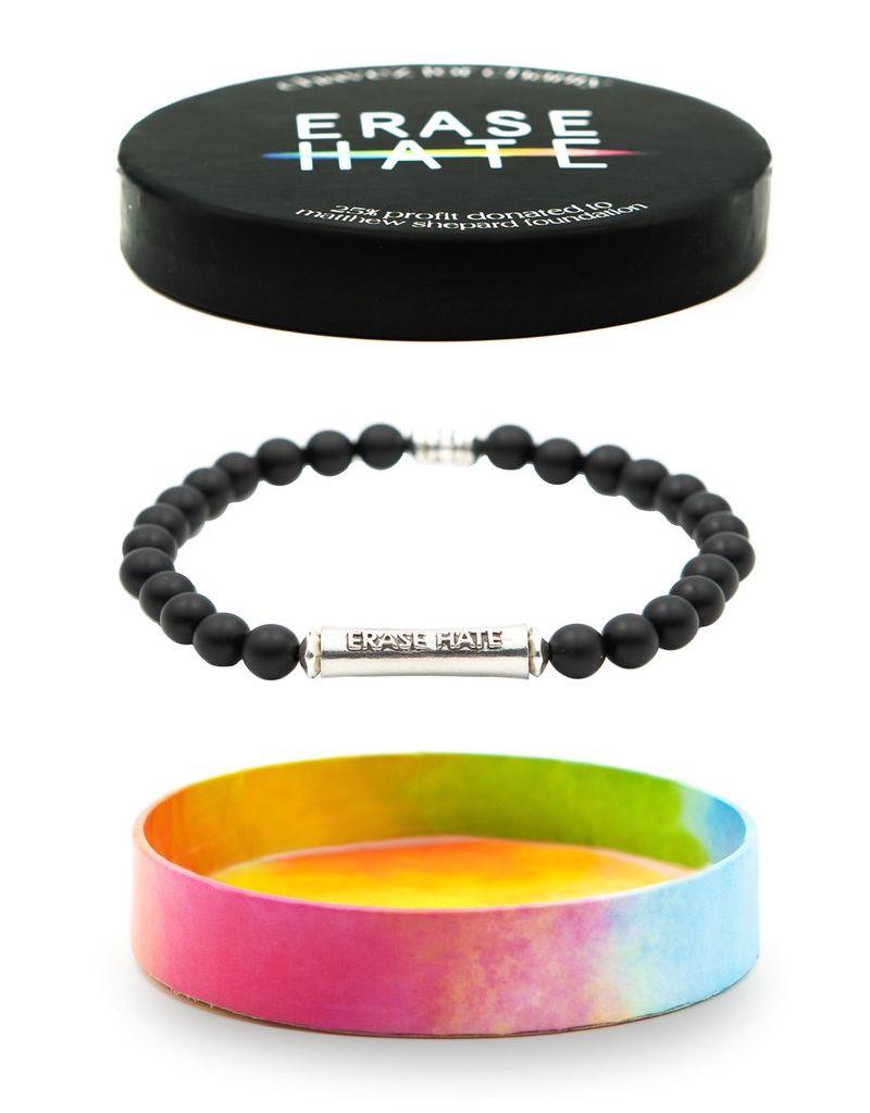 Chavez Erase hate Bracelet - Matthew Shepard Foundation