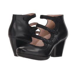 Dansko Marlene Black Burnished Calf