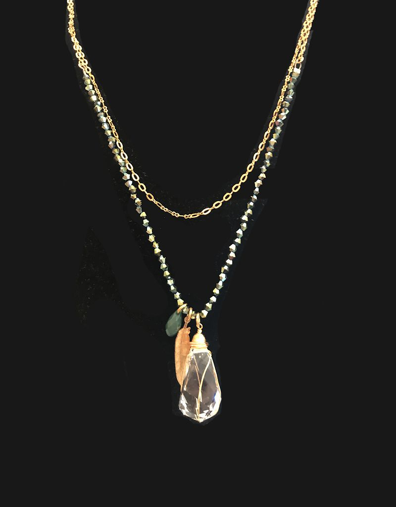 La Vie Parisienne Assort Charm Necklace