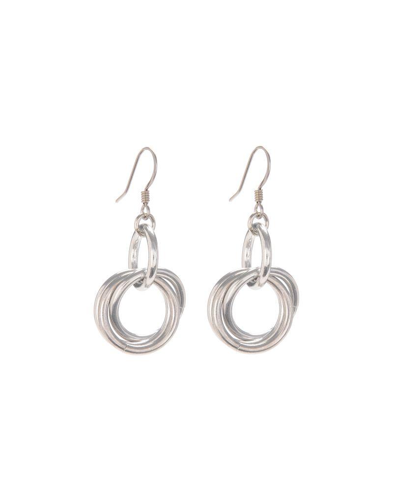 Jill Fagin Small Triple Ring Earring