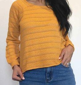Plume & Thread Bobbie Sweater w/ a Beautiful Sleeve