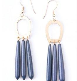 Mata Traders Blue Empress Earrings