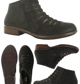 Naot/Yaleet Leveche Ankle Boot, Suede w/Woven Details