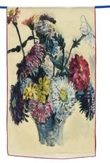 Cocoon House Delacroix Flowers Silk Scarf