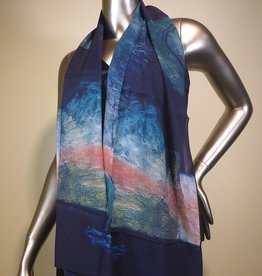 Cocoon House Tranquility Silk Scarf