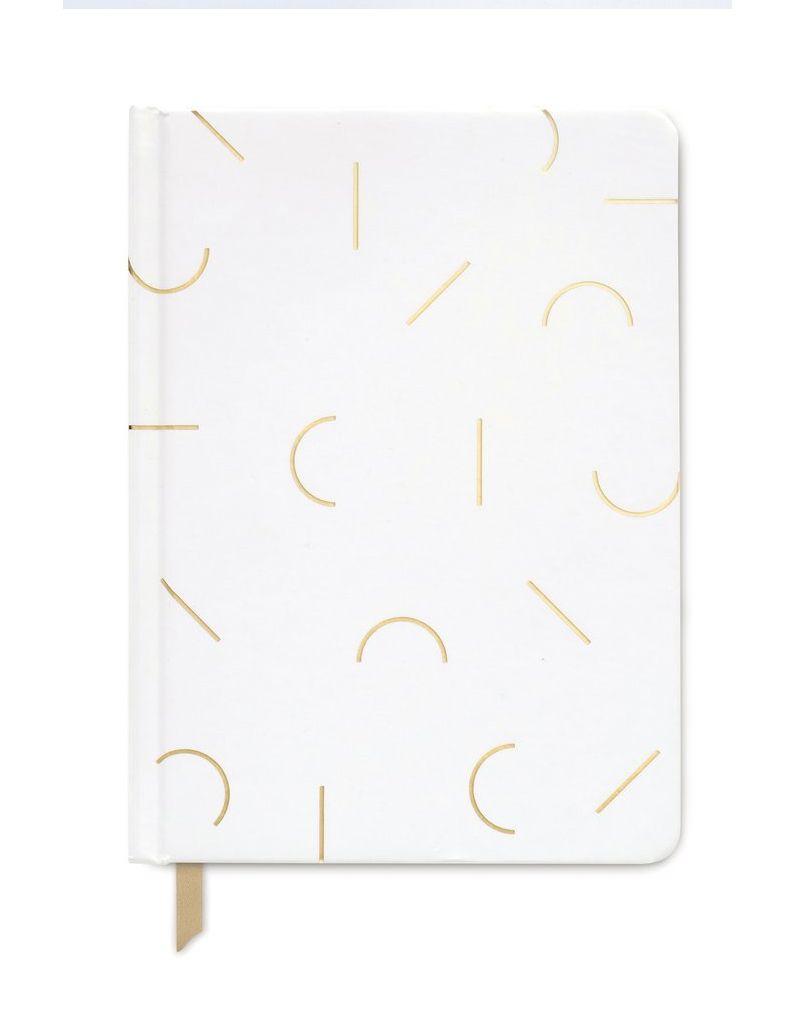 designworks Modern Memphis White Notebook