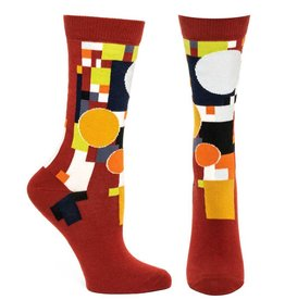 Ozone Designs FLW Coonley Playhouse Women's Socks