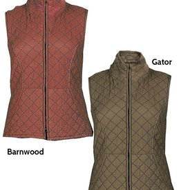 Cut Loose Zip Front Quilted Vest