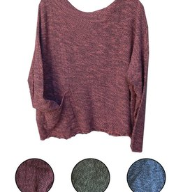 Cut Loose Pocket Pullover