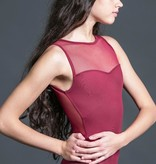 W/S Adult Apparel Streamline illusion sweetheart with mesh zip back