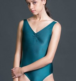 W/S Adult Apparel Radiance pinch front tank with 'V' back