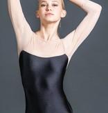 W/S Adult Apparel Radiance mesh 3/4 sleeve 'V' back