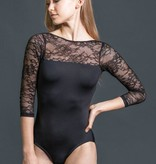 W/S Adult Apparel Lace 3/4 Sleeve 'V' Back