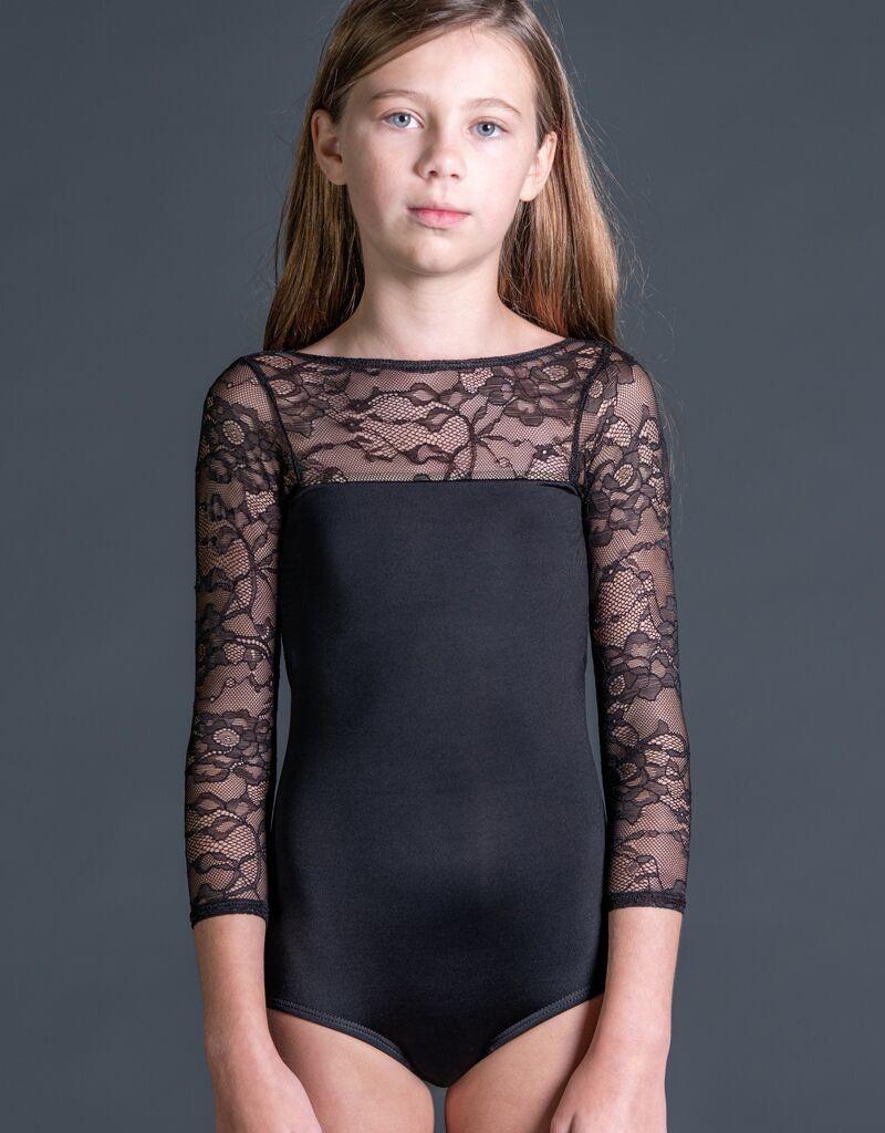 W/S Kid Apparel Lace 3/4 Sleeve 'V' Back